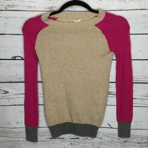 J crew XS Merino Wool blend sweater